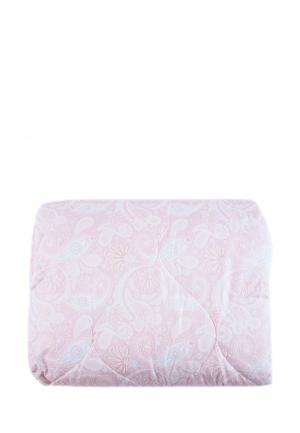 Комплект постельного белья Евро La Pastel. Цвет: розовый
