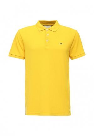 Поло Tailored. Цвет: желтый