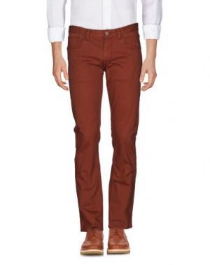 Повседневные брюки MATIX. Цвет: коричневый