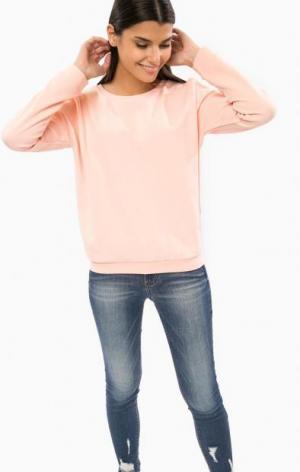Розовый свитшот с вырезами на плечах TOM TAILOR Denim. Цвет: розовый