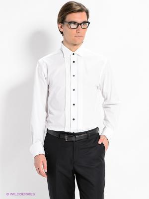 Рубашка Slava Zaitsev. Цвет: белый