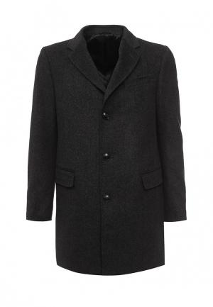 Пальто United Colors of Benetton. Цвет: серый