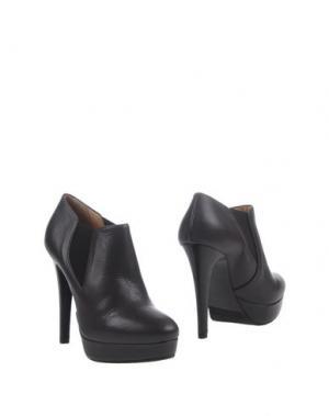 Ботинки F.LLI BRUGLIA. Цвет: темно-коричневый