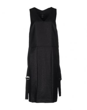 Платье до колена MARC BY JACOBS. Цвет: черный