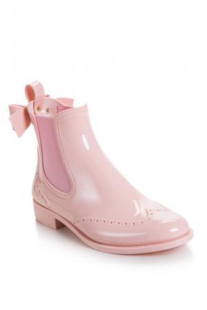 Резиновые сапоги 168215 Red Valentino. Цвет: розовый
