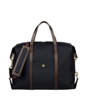 Деловые сумки MISMO. Цвет: темно-синий
