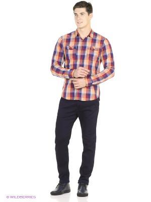 Рубашка Reserved. Цвет: оранжевый