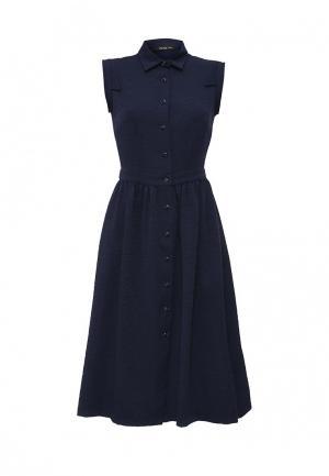 Платье Piena. Цвет: синий