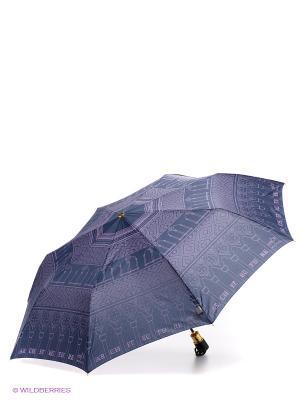 Зонт H.DUE.O. Цвет: синий, лиловый
