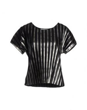 Блузка PAOLO ERRICO. Цвет: стальной серый