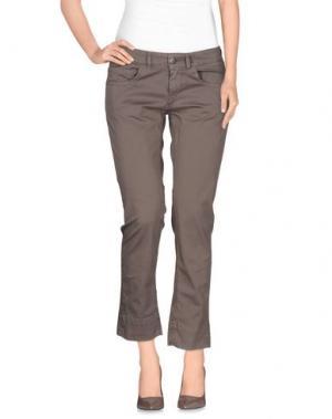 Повседневные брюки QCQC. Цвет: голубиный серый