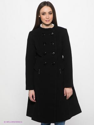Пальто DOCTOR E. Цвет: черный