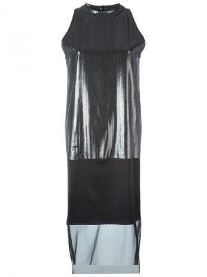 Платье Pez Minimarket. Цвет: чёрный
