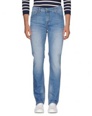 Джинсовые брюки DIMATTIA. Цвет: синий