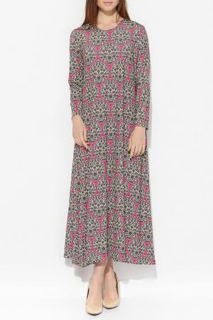 Платье Moda di Lorenza. Цвет: мультицвет