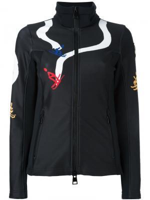 Приталенная стеганая куртка Rossignol. Цвет: чёрный