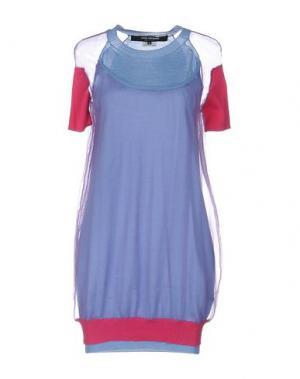 Короткое платье JUNYA WATANABE COMME des GARÇONS. Цвет: лазурный