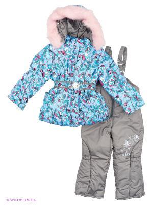 Комплект для девочки Rusland. Цвет: бирюзовый