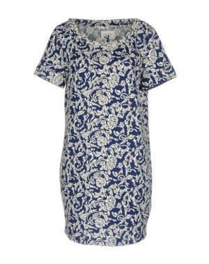 Короткое платье BLUEFEEL by FRACOMINA. Цвет: синий