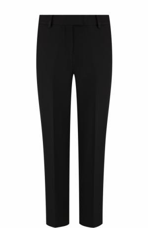Укороченные однотонные брюки со стрелками MICHAEL Kors. Цвет: черный