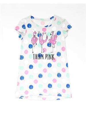 Ночная сорочка Mark Formelle. Цвет: светло-серый, розовый, синий