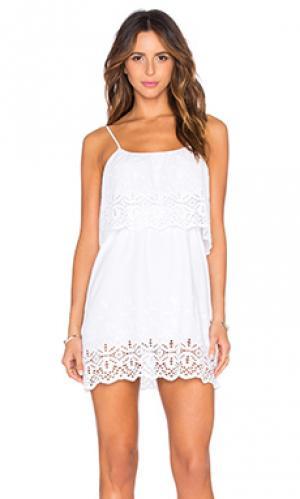 Платье delphine De Lacy. Цвет: белый