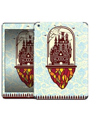 Наклейка на iPad Air Floating Castle - El Jefe Design Gelaskins. Цвет: молочный, коричневый, голубой