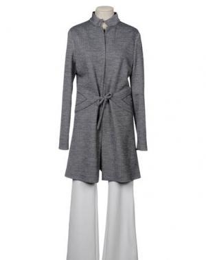 Легкое пальто AINOS. Цвет: серый