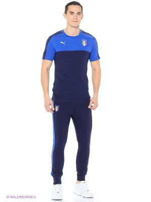 Брюки FIGC TRIBUTE 2006 Pants Puma. Цвет: синий