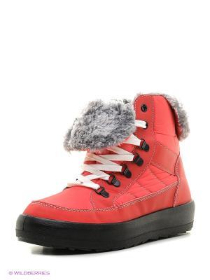Ботинки Алми. Цвет: коралловый