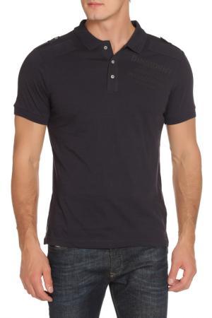 Рубашка-поло DISSIDENT. Цвет: true navy