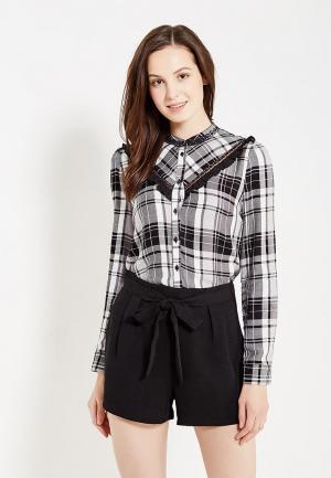 Блуза Naf. Цвет: серый