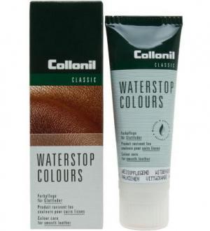 Крем для ухода за всеми видами гладкой кожи Collonil. Цвет: белый