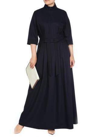 Платье Piena. Цвет: темно-синий