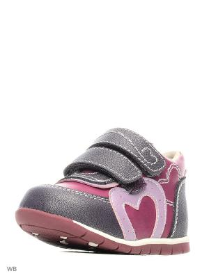 Ботинки Flamingo. Цвет: бордовый, сливовый