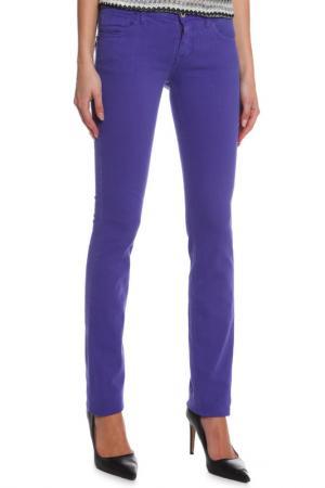 Джинсы CNC Costume National C'N'C. Цвет: фиолетовый