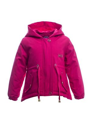 Куртка Bonito kids. Цвет: малиновый
