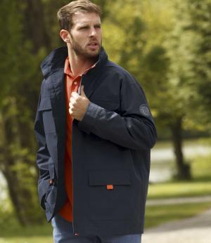 Демисезонная Куртка AFM. Цвет: темно-синии