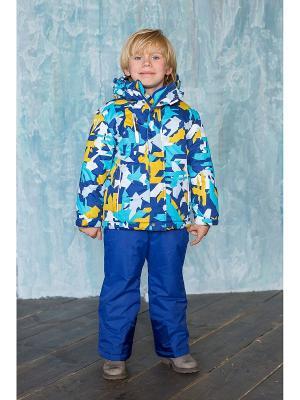 Комплект: куртка, брюки Sweet Berry. Цвет: темно-синий