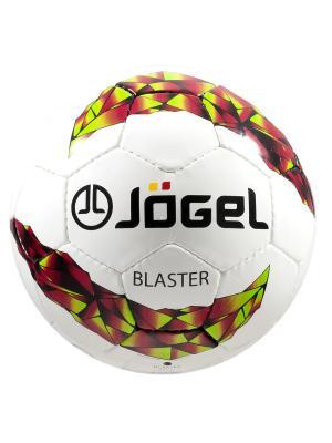 Мяч футбольный Jоgel JF-500 Blaster №4 Jogel. Цвет: белый, желтый, красный, черный