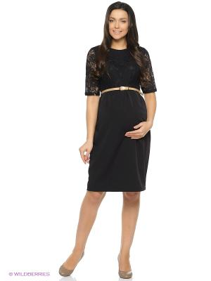 Нарядное платье с кружевом, для беременных. ФЭСТ