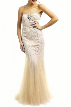 Dress YASMIN. Цвет: beige