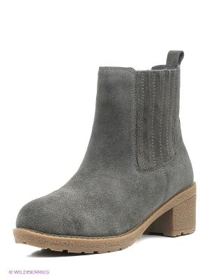 Ботинки EVITA. Цвет: темно-серый