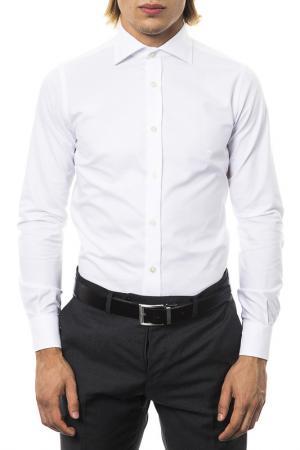 Рубашка UominItaliani. Цвет: белый