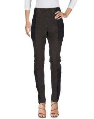 Джинсовые брюки SILENT DAMIR DOMA. Цвет: темно-зеленый