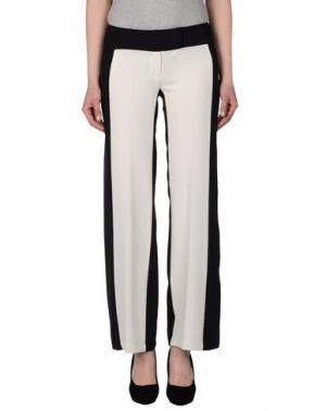 Повседневные брюки MILA SCHÖN CONCEPT. Цвет: белый