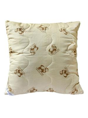 Подушка Sheep wool 68*68 Dream time. Цвет: бежевый