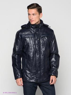 Куртка Berloga. Цвет: темно-синий