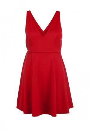 Платье Catwalk88. Цвет: бордовый