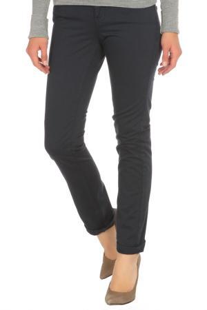 Зауженные брюки с застежкой на молнию Gaudi. Цвет: 2817, синий